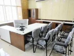 Rectangular Wood Arts Modular Office Furniture