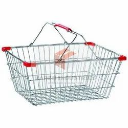 SS Wire Shopping Basket