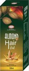 Herbal Ayurvedic Almond Hair Oil, For Personal, Packaging Size: 100 ml