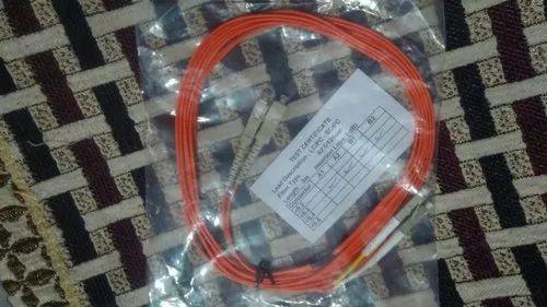 Fiber Patch Cord SC/PC- LC/PC OM2 Multi-Mode Duplex 3mtr