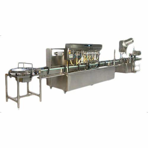 Liquid Filling Machine - Fully Automatic Liquid Filling