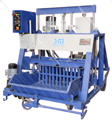 Egg Laying Type Solid Block Making Machine