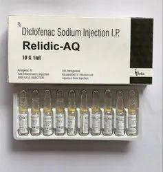 Diclofenac Sodium Injection IP 75mg/ml