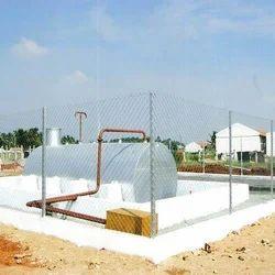 Solvent Storage Tank Installation