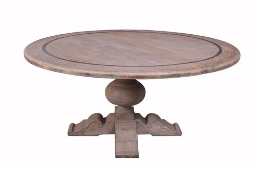 Venus Standard Height Round Dining Table 1 Size Dimension 120 Cm Dia Rs 38000 Piece Id 21718115430