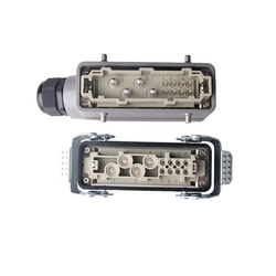 Hk4/8 12 Pin 4/8 Pins 80a Current Automotive Signal Wire Heavy Duty Industrial Connector