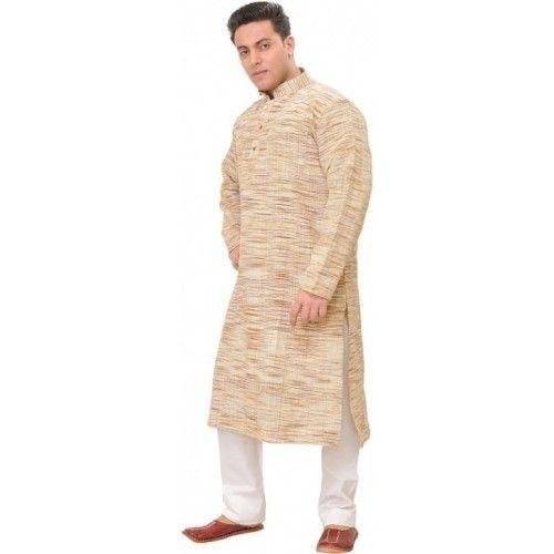 8b2ce4de57 Khadi Full Sleeve Off White Kurta Pyjama, Rs 1600 /piece, Kinny ...