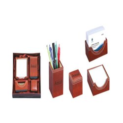 Leatherette Table Top Accessories