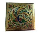 Meenakari Dry Fruit Box With Four Partition