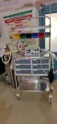 Emergency Trasnsport Ventilator, Respiratory Rate: 10 -60 Bpm