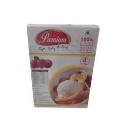 Premium Kesar Pista Ice Cream, for Parties and Functions, Packaging Type: Box