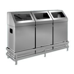 Stainless Steel Classic Design Bins