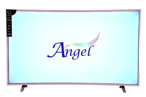 Angel 1397 Cm 55 Inches Ans55ch Curved Tv With Smart Screen Size