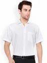 Mens Formal Shirts White Standard