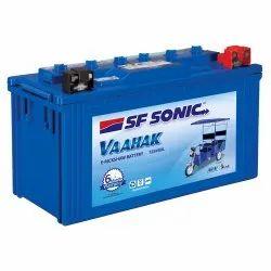 SF Sonic 12SV88L Vaahak E-Rickshaw Battery, Capacity: 88 Ah