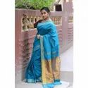 Plain Cotton Handloom Saree