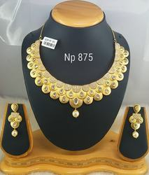 Gold Look Necklace Set