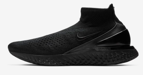 d6e5f60cbc5b Black white black Men Nike Rise React Flyknit Shoes