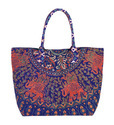 Cotton Mandala Tote Bag