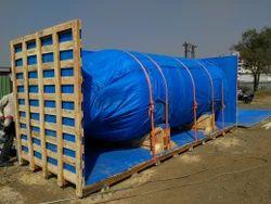 wood Industrial Vessel Packaging Service