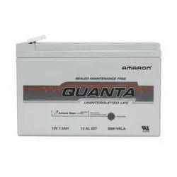 Amaron Quanta 12V 7.2 Ah SMF Battery, Warranty: 1 Year