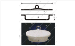 Moisture & Ash Determination Circular Capsule with Ground Li