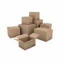 Brown Corrugated Shipping Box