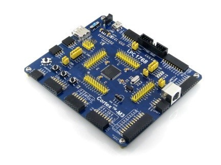 Double sided ARM Cortex M3 Development /Experimental Board, Model Number: Lgs Lpc-1768