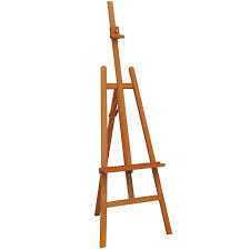 Wooden Board Easel Stand
