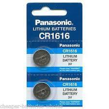 Panasonic CR 1616 Batteries