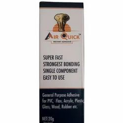 20 g Air Quick Instant Adhesive, Packaging Type: Bottle
