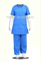 Round Neck Nursing Uniform