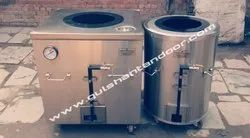 S Steel Gas And Charcola Tandoor