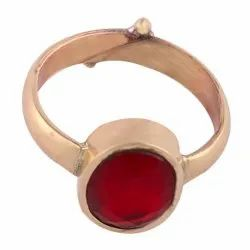 Natural Gemstone Adjustable Ring Manik, Panna, Neelam, Monga, Moti, Zircon