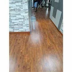 Brown Wooden Laminated Flooring, Walnut Laminate Flooring Costco
