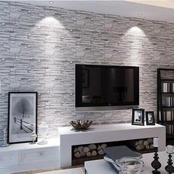 PVC Designer Living Room Wallpaper