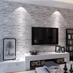 Designer Living Room Wallpaper