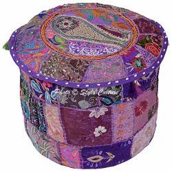 Ottoman Pouf Cover