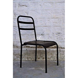 Iron Bistro Chair for Cafes
