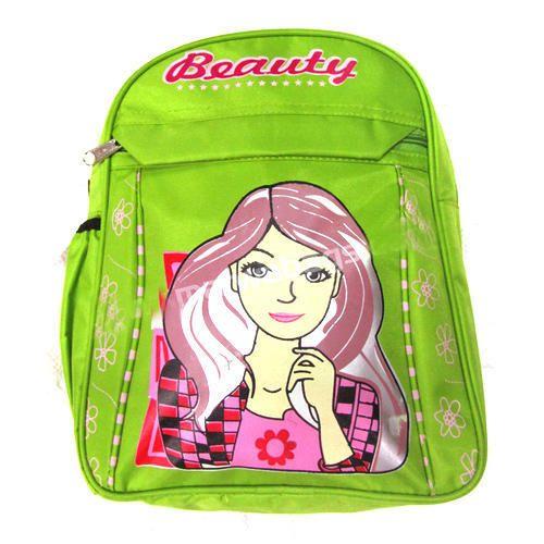 Green Kids Fancy School Bag