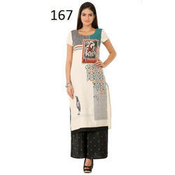 Casual Wear Printed Kurti