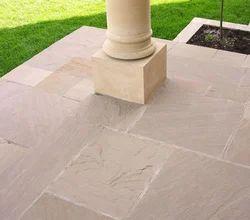 Rectangular Rajgreen Sandstone Paving for Pavement