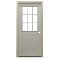 Indigatech Metal Entry Door, Size/dimension: 1.2x2.1m