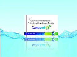 Cefpodoxime With Clavulanic Acid Tablet