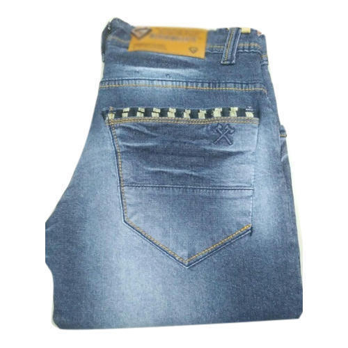 Blue Slim Fit Denim Fashion Jeans