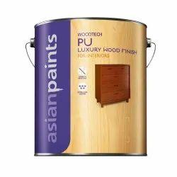 Asian PU Luxury Wood Finish Interior Paint, Packaging Type: Bucket
