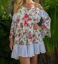Printed tunic tops