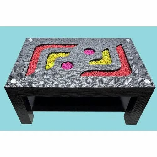 Rectangular Fancy Top Wooden Center Table, For Home, Rs ...