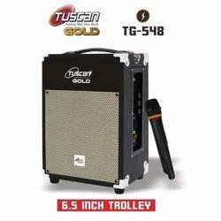 2.0 Black Tuscan Gold TG-548 DJ Speaker