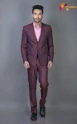 Black Color Men's Formal Suit